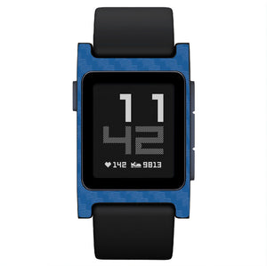Pebble 2 carbon fiber blue