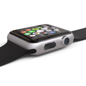 Apple Watch Button Skins 4-Pack - Brushed Metal