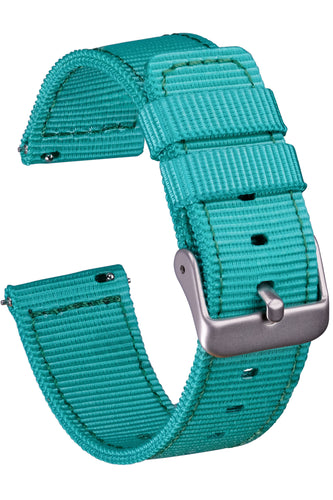 NATO Style 2 Piece Nylon Watchband - 20mm with Quick Release