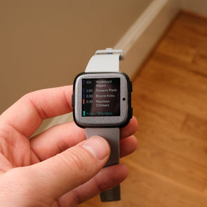 Fitbit Versa Brushed Skins and Screen Protectors