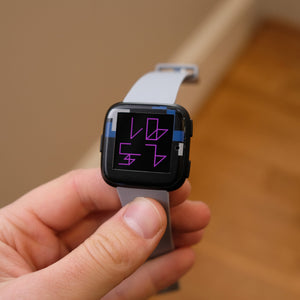 Fitbit Versa Digital Camo Skins and Screen Protectors