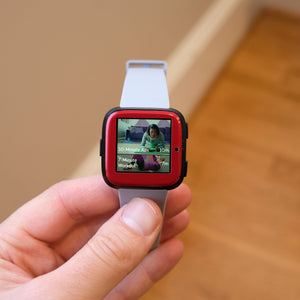 Fitbit Versa Gloss Skins and Screen Protectors
