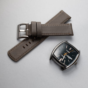 Leather Watchband – 22mm with Quick Release