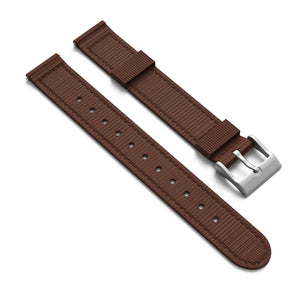 NATO Style 2 Piece Nylon Watchband - 14mm with Quick Release