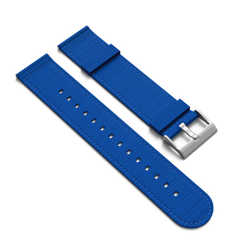 NATO Style 2 Piece Nylon Watchband - 22mm with Quick Release