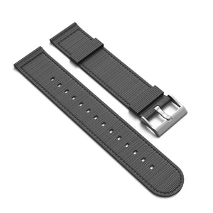 NATO Style 2 Piece Nylon Watchband - 16mm with Quick Release