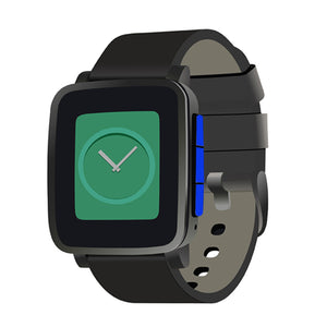 Pebble Time Steel Button Skins