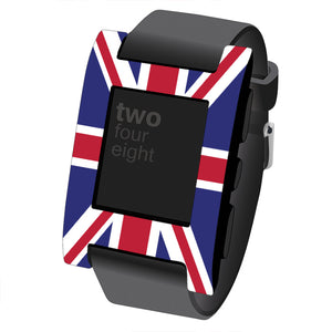 Pebble Classic Flag Skins and Screen Protector