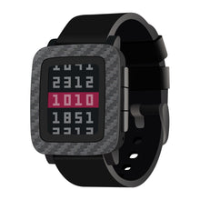 Load image into Gallery viewer, Pebble Time Carbon Fiber Skins