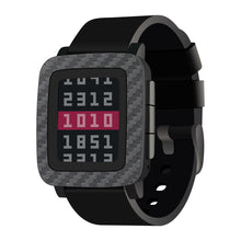Load image into Gallery viewer, Pebble Time Carbon Fiber Wraps