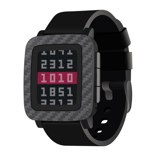 Pebble Time Carbon Fiber Wraps