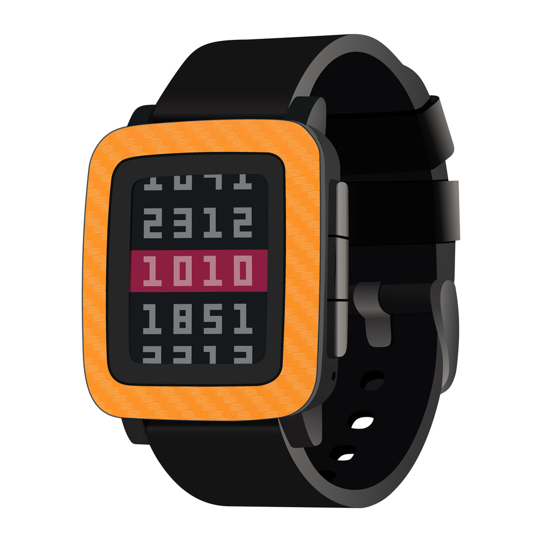 Pebble Time Carbon Fiber Skins