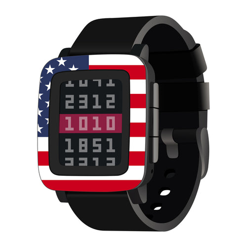 Pebble Time Flag Wraps