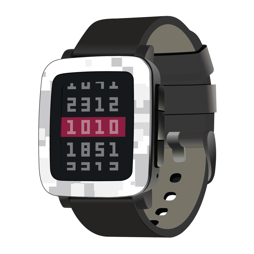 Pebble Time Steel Digital Camo Skins and Screen Protectors