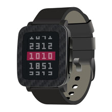 Load image into Gallery viewer, Pebble Time Steel Carbon Fiber Skins and Screen Protectors