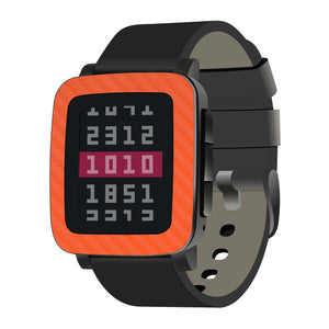 Pebble Time Steel Carbon Fiber Skins and Screen Protectors