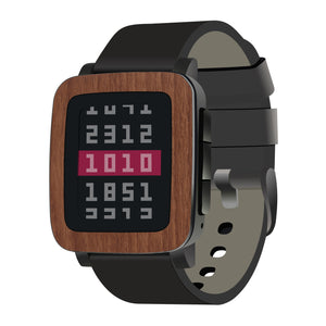 Pebble Time Steel Wood Skins and Screen Protectors