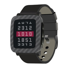 Load image into Gallery viewer, Pebble Time Steel Graphite Carbon