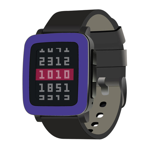 Pebble Time Steel Purple