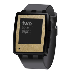 Pebble Steel Brushed Skins and Screen Protectors