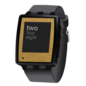 Pebble Steel Brushed Gold