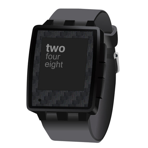 Pebble Steel Carbon Fiber Black