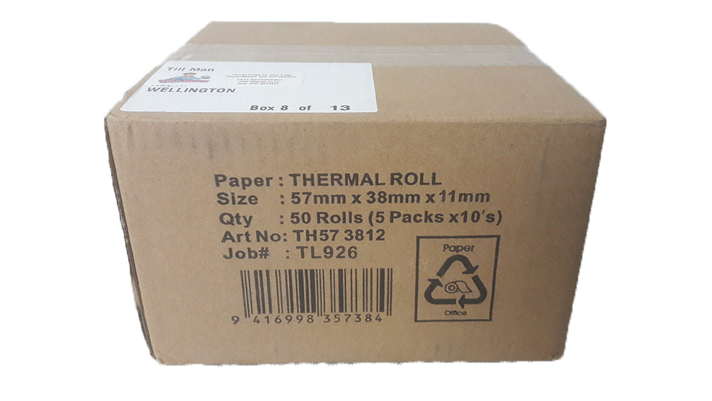 Eftpos Thermal Paper Rolls 57mm wide
