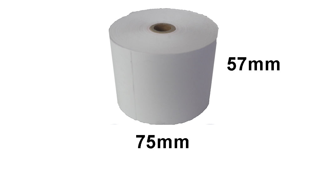 57X75mm Thermal Cash Register Paper Rolls