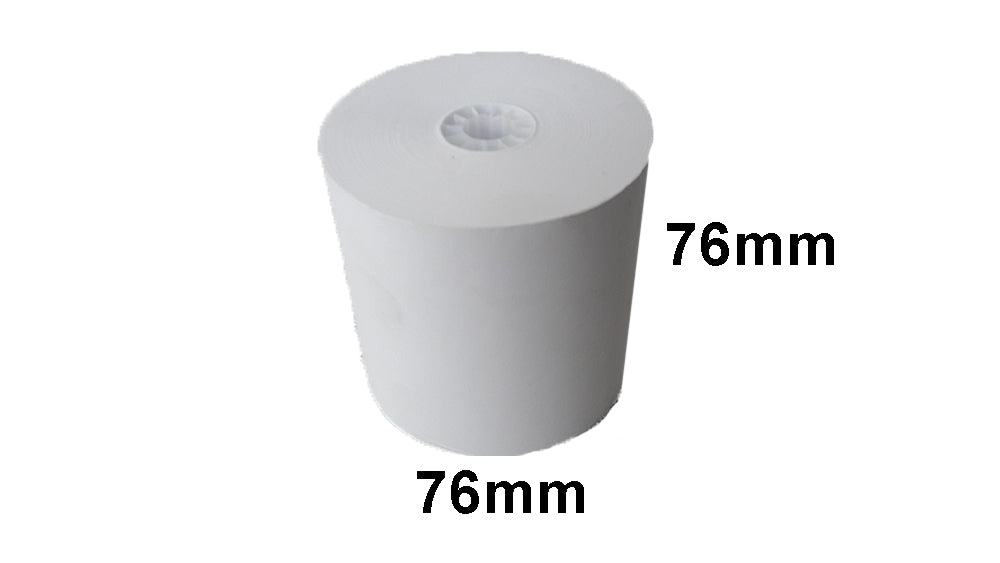 76X76mm Bond Non-Thermal Kitchen Docket Rolls