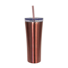 VASO CON TAPA DOBLE PARED SKINNY 12 OZ (HRB-474C)