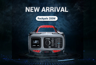 #GIVEAWAY TIME  New Release Rockpals 200W Power Station