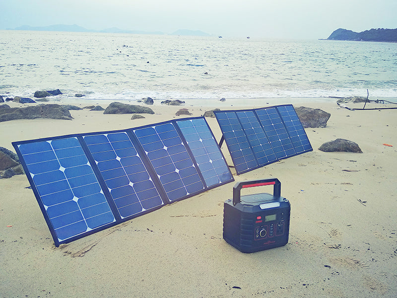 Rockpals 160W (80W*2) Solar Panels