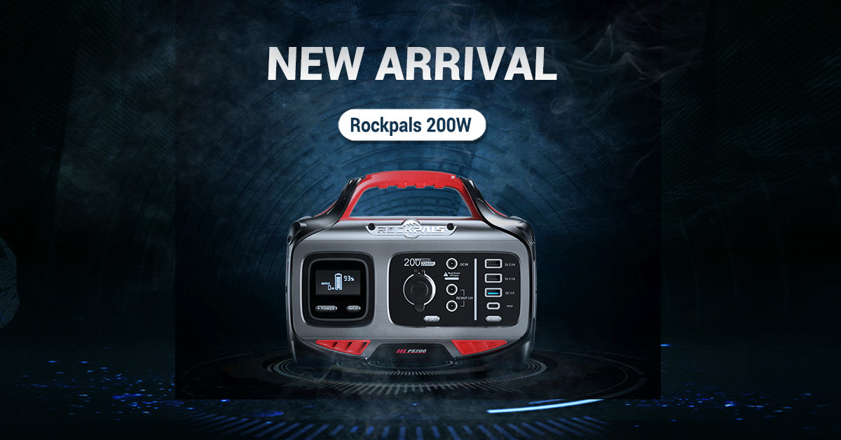 New Launch Rokcpals 200W