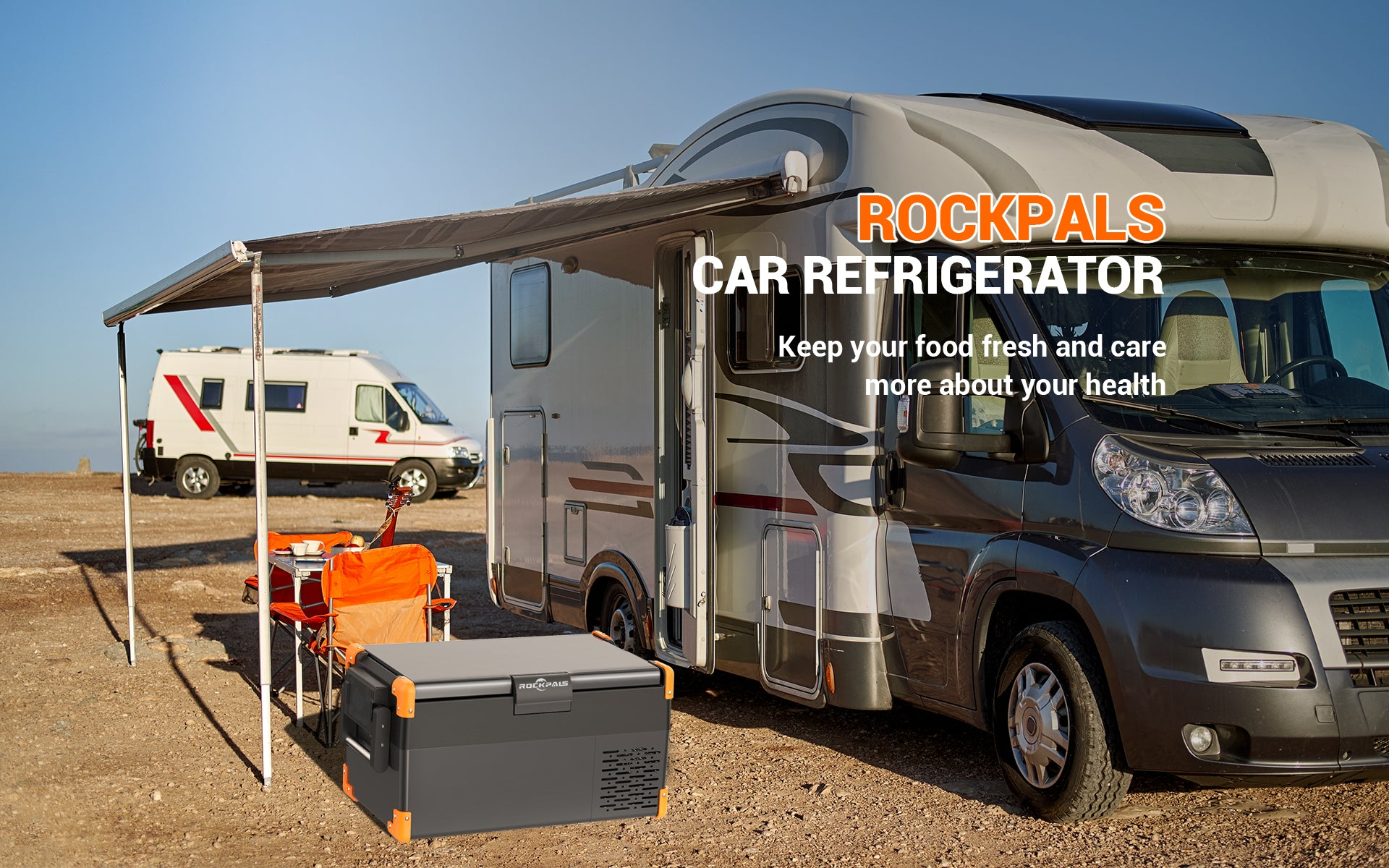 Rockpals 26 Quart Portable RV Refrigerator 01