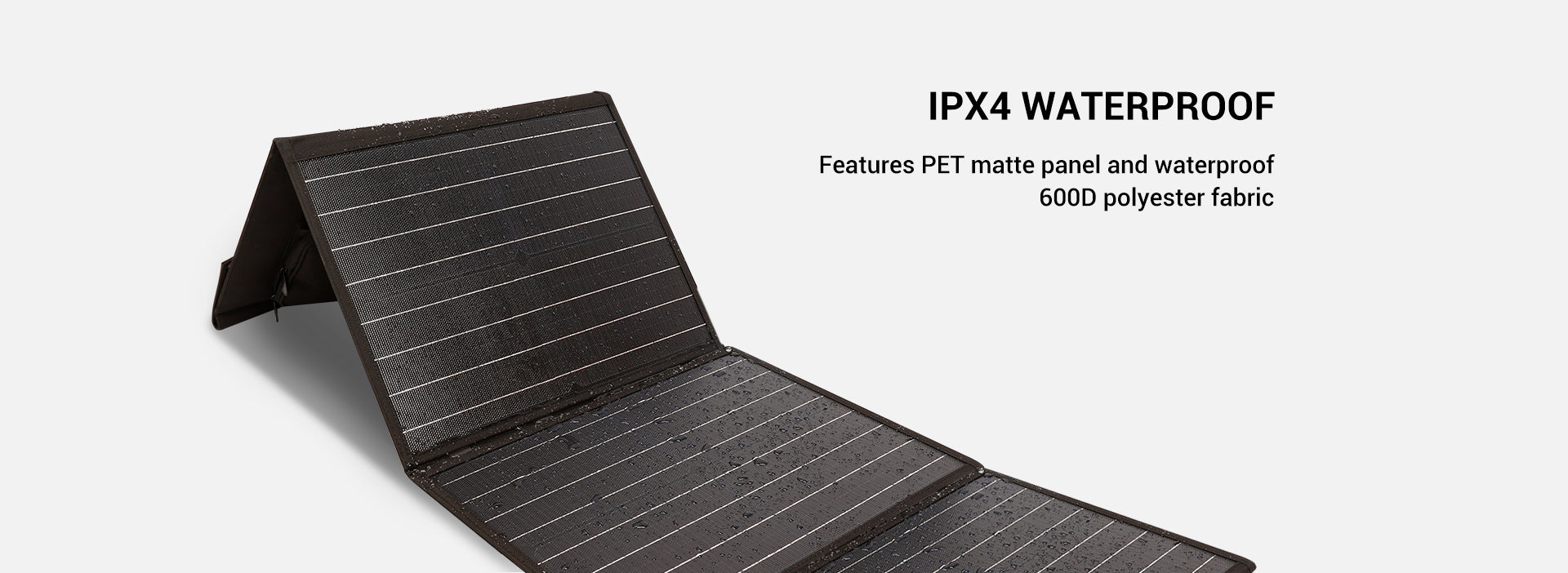 Rockpower 100W Solar Panel IPX4 Waterproof