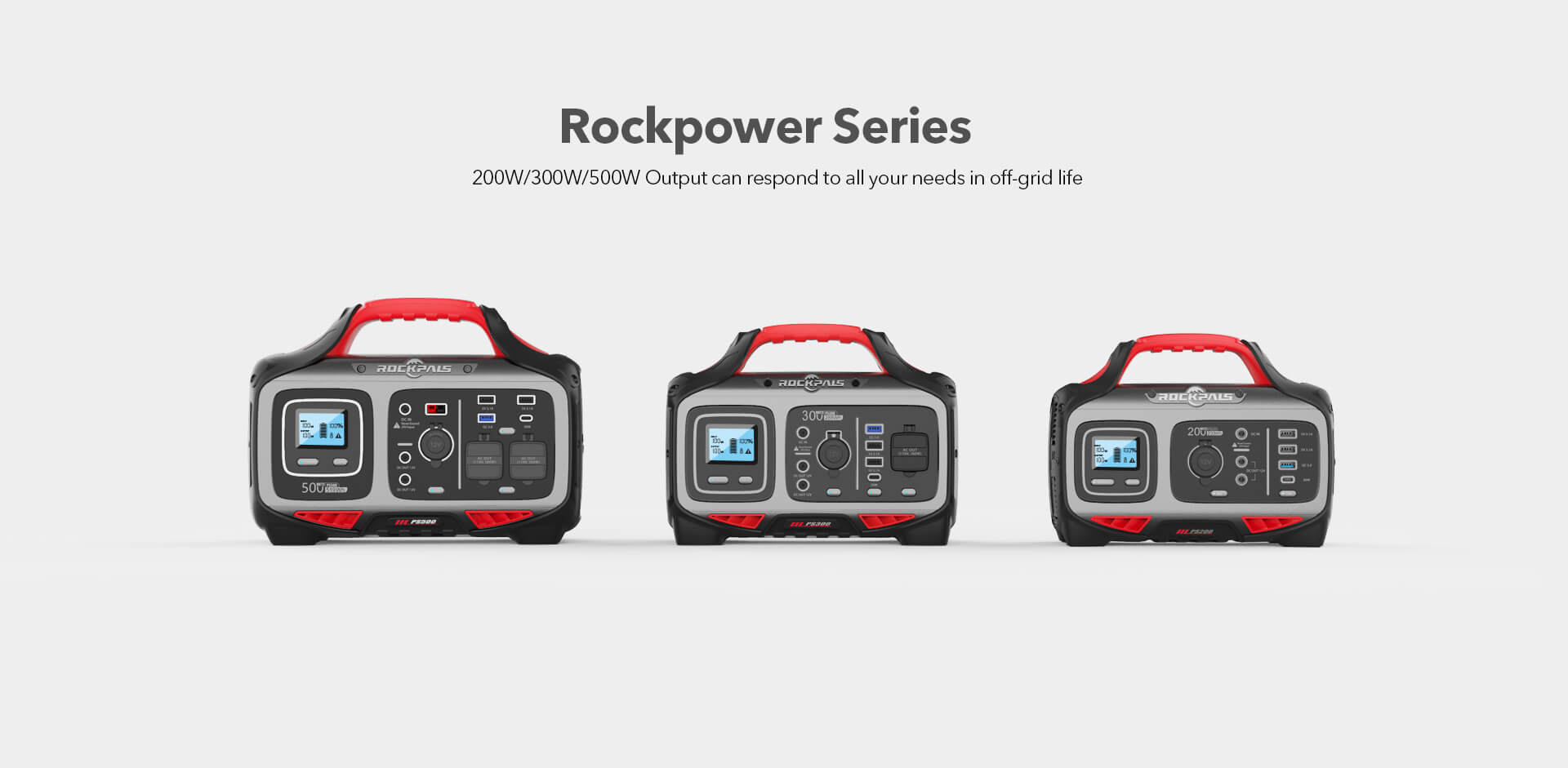 Rockpals Rockpower 200W Portable Power Station