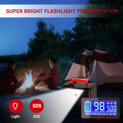 Rockpals 500W/540WH Portable Power Station 【In Stock on May 1】 - Rockpals