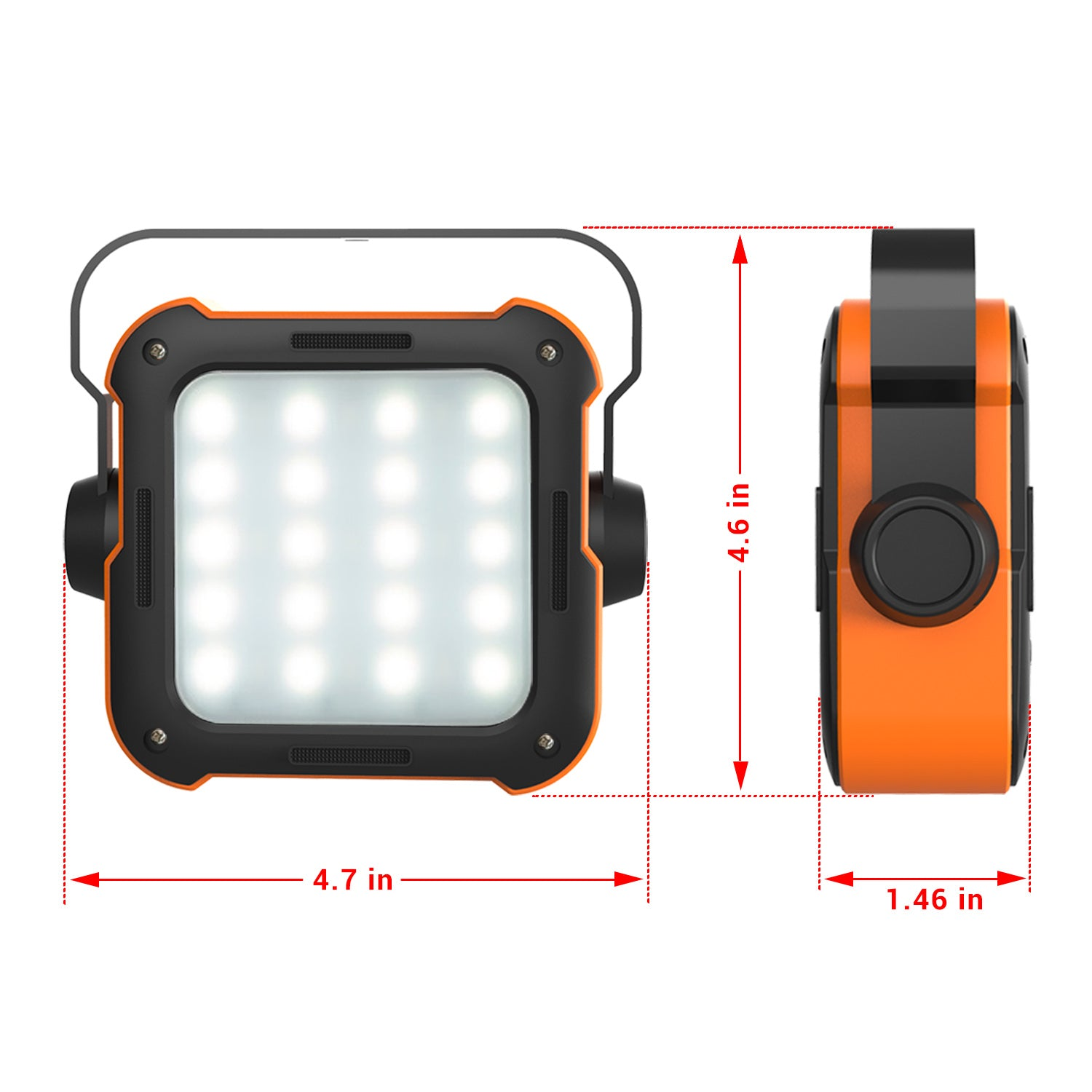 Rockpals 2 In 1 Led Camping Lantern - Rockpals
