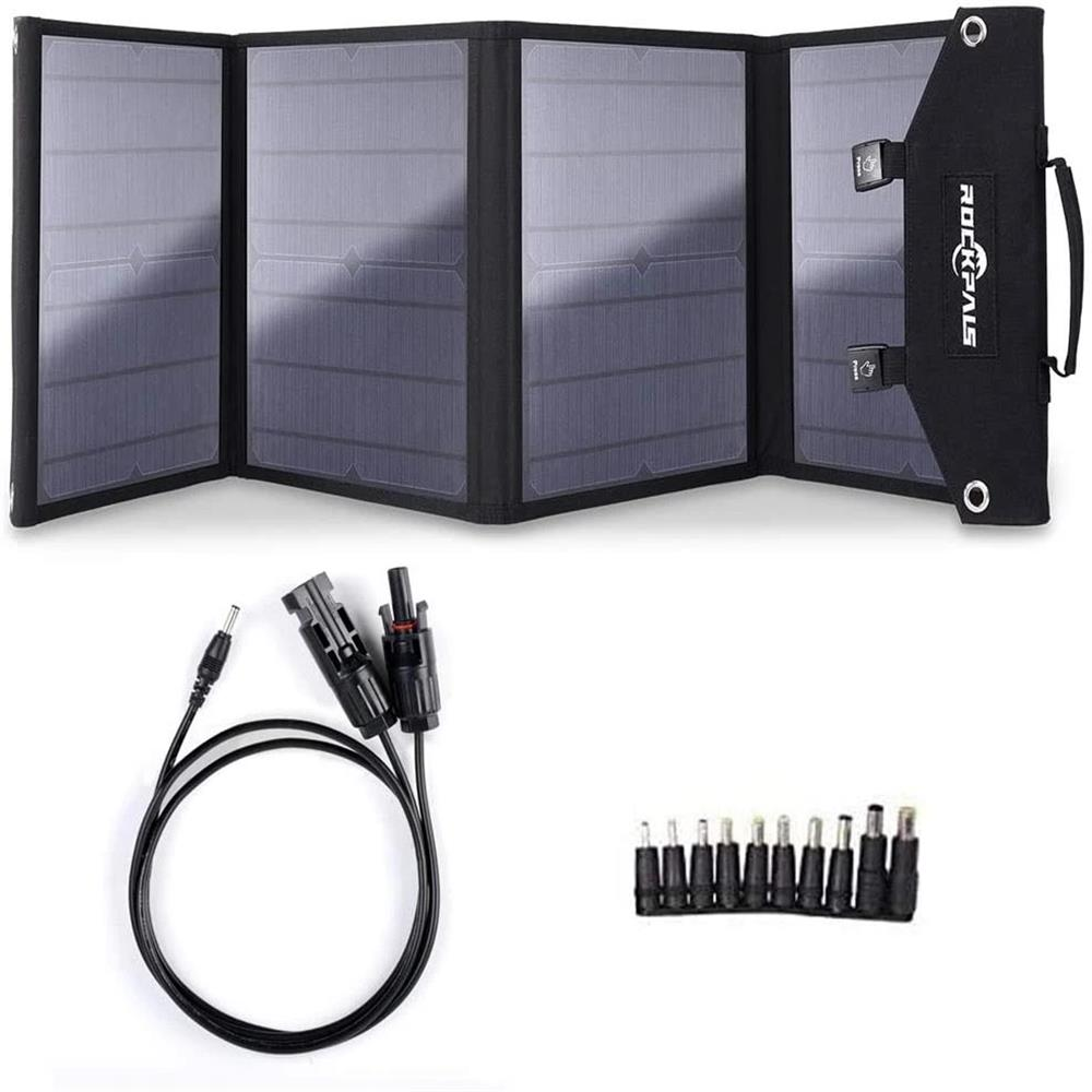 Rockpals 100W Foldable Solar Panel 01