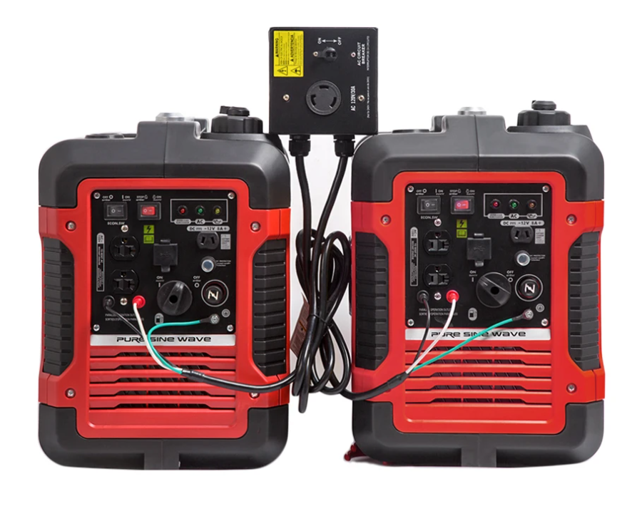 Parallel Kits for Two 2000Watt Generators