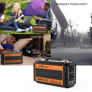 Rockpals 250W Portable Power Station [In Stock on May 5] - Rockpals