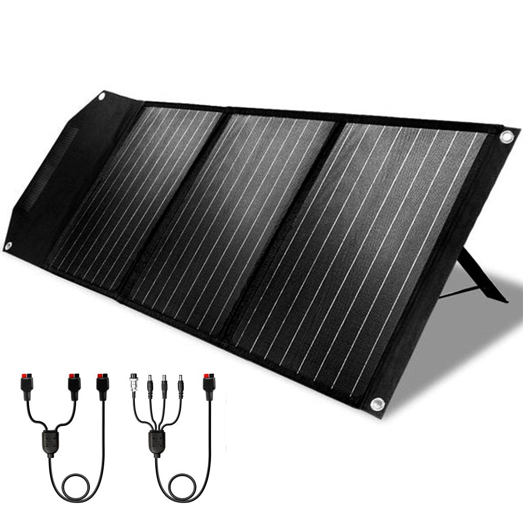 Rockpals 60W Portable Solar Panel 02