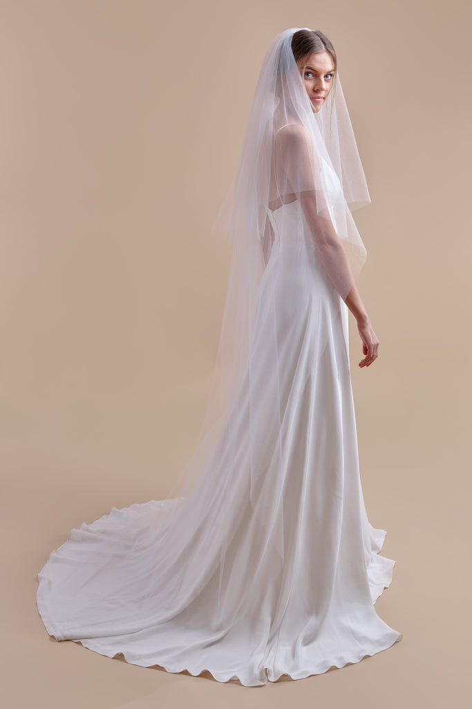 Tulle Have + To Hold Wedding Veil - double tier, court