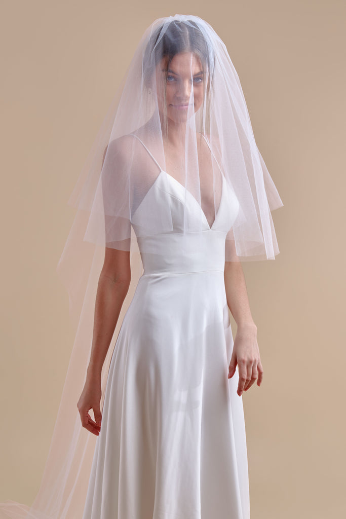 Tulle Have + To Hold Wedding Veil - double tier, cathedral