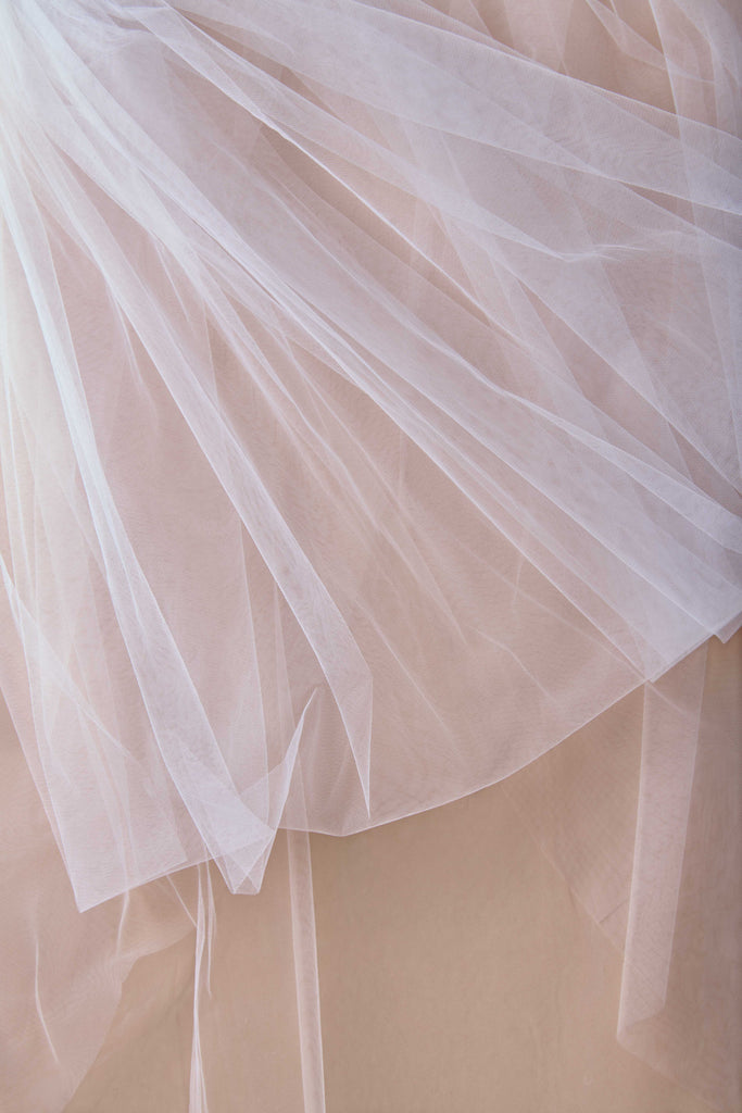 Tulle Have + To Hold Wedding Veil - single tier, court