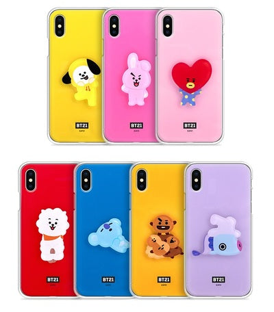 BT21 - Acrylic Jelly Phone Case [Special Pre-Order]