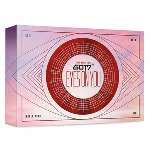 GOT7 - 2018 WORLD TOUR [EYES ON YOU] DVD (3 DISC) [SPECIAL PRE-ORDER]
