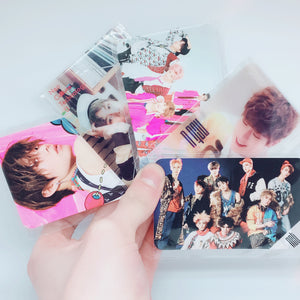 NCT - Message Cards / Transparent Photocards