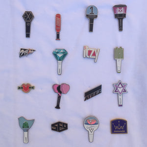 Metal Pin Badge - different groups