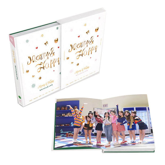 TWICE - Merry & Happy Monograph